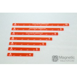 "Basic Set of Measuring Sticks 4""-10"" (7 pcs.)"