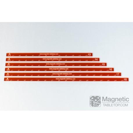 """Upgrade Set of Measuring Sticks 13""""-18"""" (6 pcs.)"""