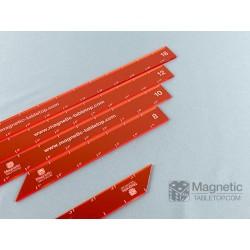"Full Set of 1"" Measuring Sticks 2""-18"" (17 pcs.)"